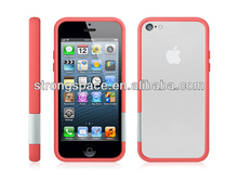 free sample cell phone case for iphone5c slim bumper covers cases