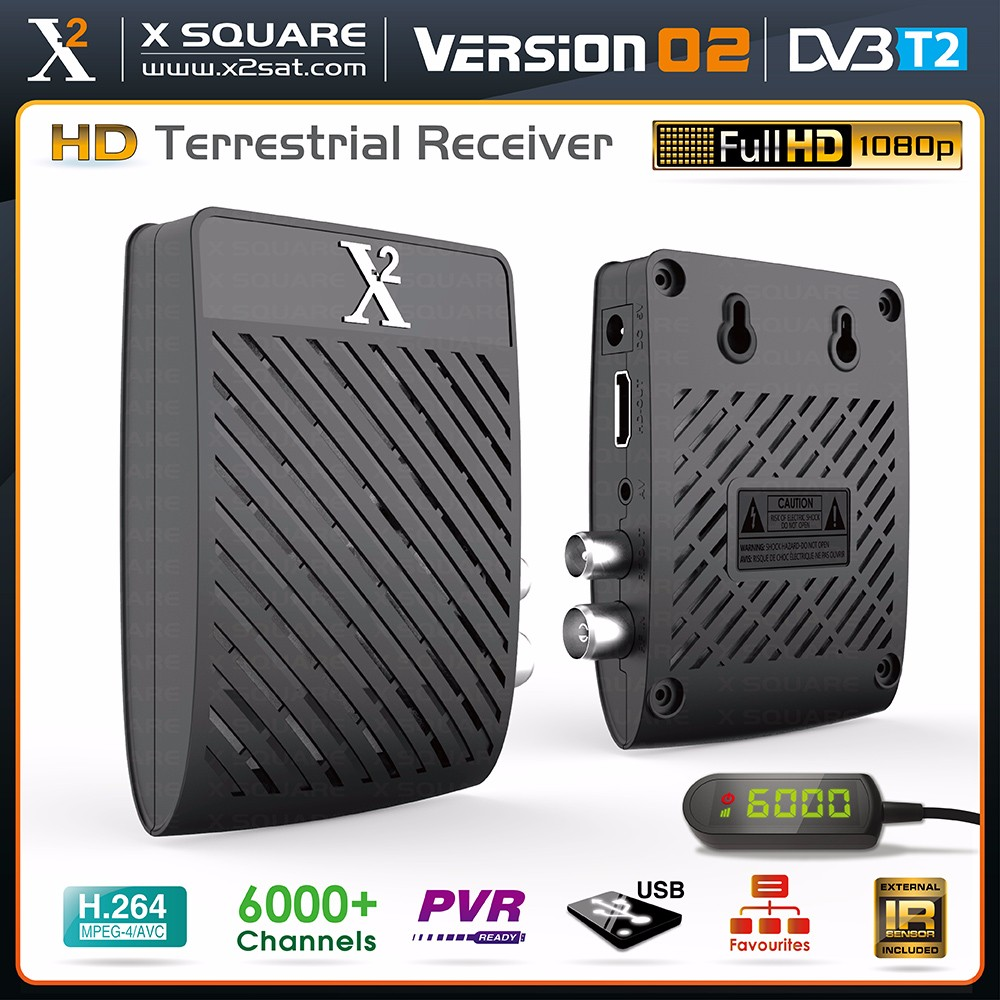 X2 Best Quality FULL HD T2 DVB Digital Satellite Receiver