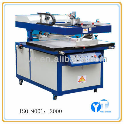 YT- 6090 screen printing machine to making decal