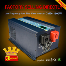 Pure sine wave 50hz 60hz 1000w 1500w 2000w 24v 48v dc 220v 240v ac solar inverter with built-in charge controller