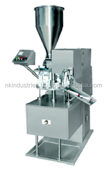 small plastic tube filling machine