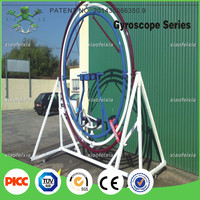 fashion single human gyroscope rides for sale