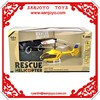 Ambulance rc helicopter for simulation rescue 2.4G 3ch rc helicopters sale