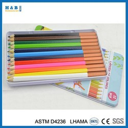 Cheap popular for school colored pencil