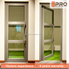 APRO new china products for sale interior door swing with tempered glass