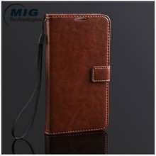 Hight Quality PU Leather Wallet case for samsung galaxy note 3, wholesale cell phone accessory for samsung galaxy note 3 case