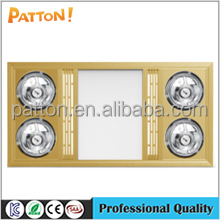 Ceiling Air-heating PTC ceramic Bathroom heater with 4 infrared lamps DHL306-05,06
