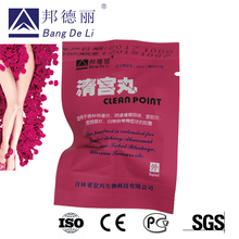 Manufacturer Direct Sale Clean Point Herbal Tampon for Uterus Detox