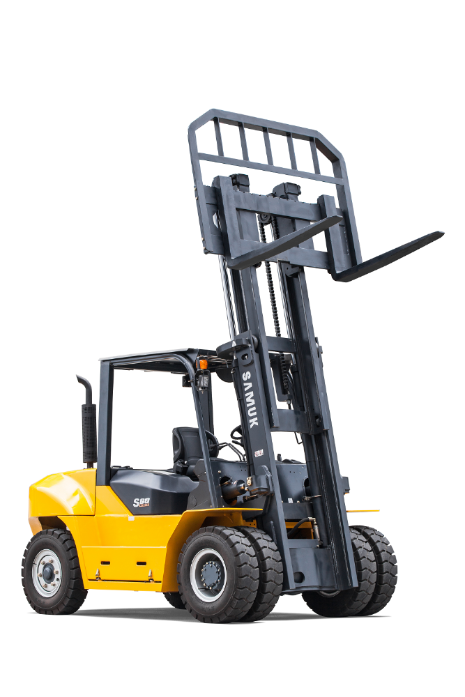 10ton Samuk Diesel Forklift For sale in Dubai with Japan engine
