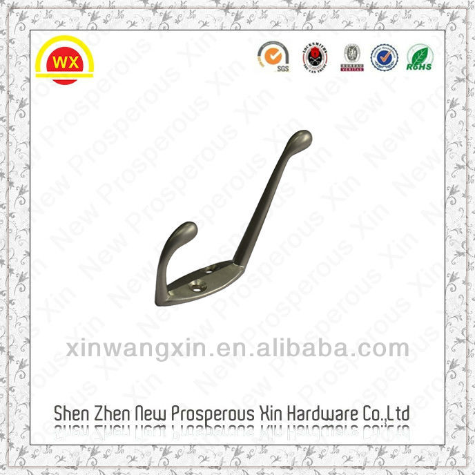 Zinc alloy metal wall hanging basket hooks
