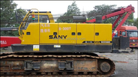 50ton used good condition SANY SCC50C crane for sale in Shanghai,China