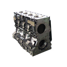 Auto Engine spare parts truck cylinder block 6BTAA