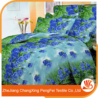 Beautiful printing 3d style bed sheet set for wholesale