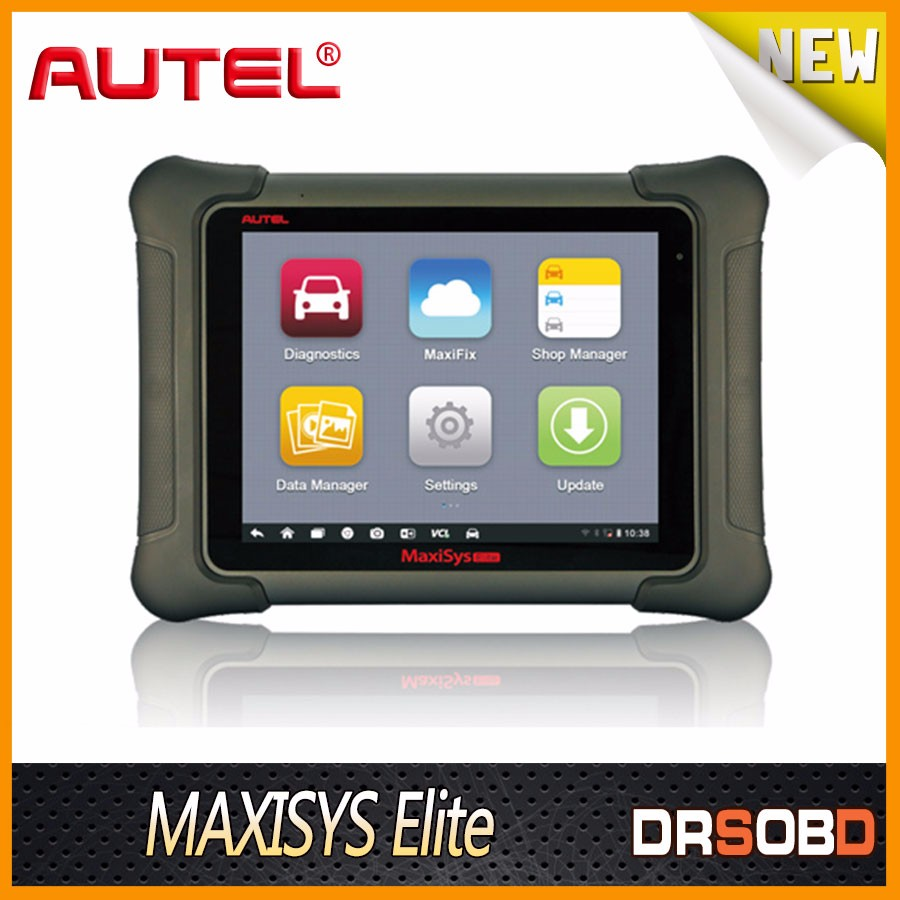 AUTEL Maxisys Elite Automotive Diagnostic Tools Support J2534 ECU Preprogramming