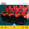 6 Dof Motion Platform 2 Seats