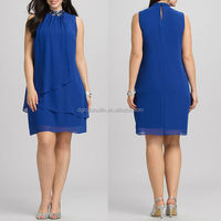 fat women Embellished ladies office wear dresses dress