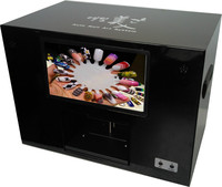 New nail art printer,10 inches big screen. DIY nail art, DIY rose/flower art