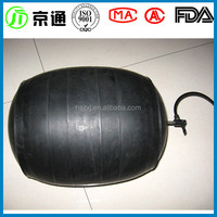 jingtong rubber 2/3/4/5/6 inch closed water test balloon/rubber pipe plugs