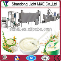 Instant Extruded Brown Rice Flour Baby Food Machine
