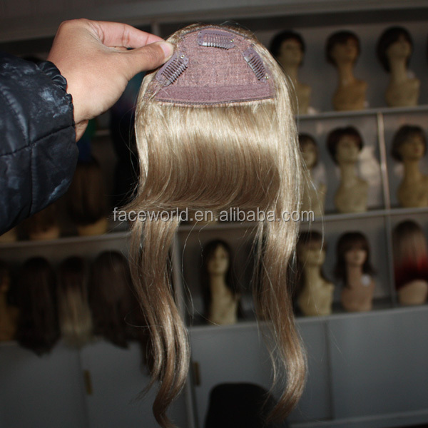 Factory big stock wholesale 100 human hair bangs