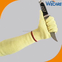Cut Resistant Set Forearm Arm Safety Protection Aramid Knit Sleeves