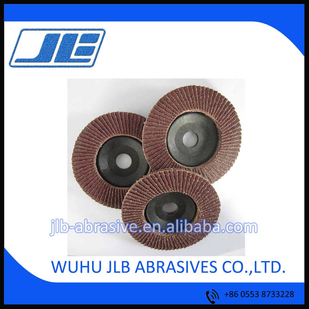"40#-400# grit 4"" (100*16mm) Chinese style flower-shaped flap disc aluminum oxide flexible flap wheel disc"