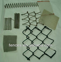 chain link fence / chain link mesh / diamond shape wire mesh
