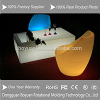 IP68 Water proof standard ice bucket led bar table