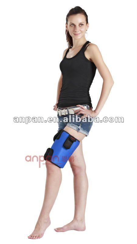 electric heat thigh band, heat pad, hot therapy wrap