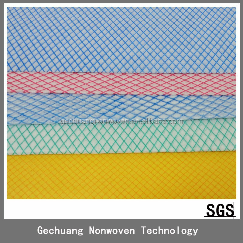 new products High Quality spunlace nonwoven household antibacterial surface cleaning cloth