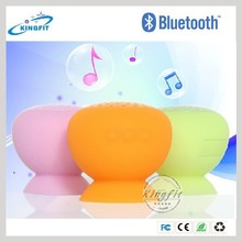 2015 Cheap Portable Silicone Mushroom Bluetooth Speaker for Promotional Gift Best Promotion Gift Silicone Mini Speaker