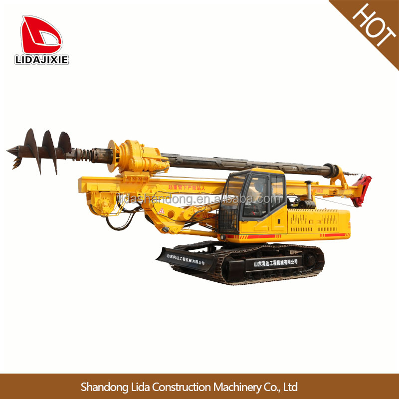 hydraulic rotary pile drilling machine crawler for foundation with high quality