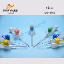 disposable I.V. intravenous cannula iv catheter with wing injection port for sale
