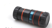 Universal clip 8 x Zoom Optical Lens For iPhone 4 4s 5 HTC Samsung Galaxy S3 Phone Telescope Camera Lens phone