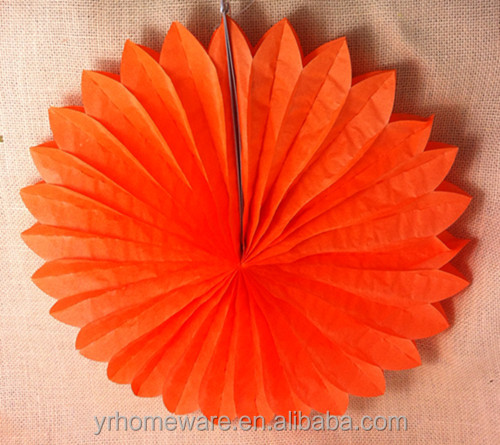 paper fan wedding /party decorations