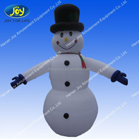 cute small inflatable snowman for hot sale