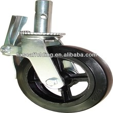 scaffold caster wheel with brake