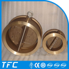 aluminum bronze dual plate wafer check valve