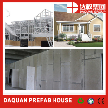 new and green modular building system China manufactured homes prefab house china