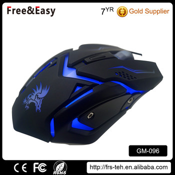 2017 OEM optical led latest design colorful rat gaming mouse