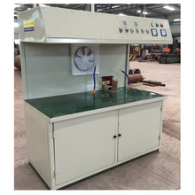 Free shipping heat band CRT monitor recycling machine TV cone and screen glass separation machine