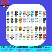 Movable cartoon 30 set single Evade glue Dragon ball Cat Costume doll
