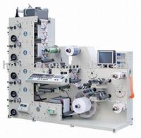 RY320-5C 5 colors high quality roll to roll label flexo printing machine flexo press