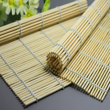 Wholesale high quality natural green bamboo sushi rolling mat bamboo sushi mat Sushi Making Kit