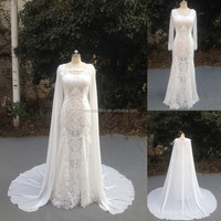 NW15115 Top Quality Special Design Bridal Gown in Two Pieces Wedding Dress 2016