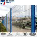 Light Weight Bending Triangle Wire Mesh Fence 50*100mm PVC coated