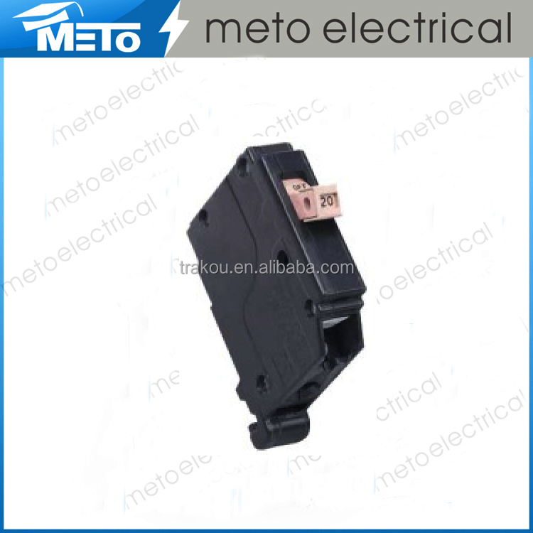Hot sell single pole power mcb electrical 200 amp ch gfci household outdoor main programmable simple circuit breaker 240v 45a