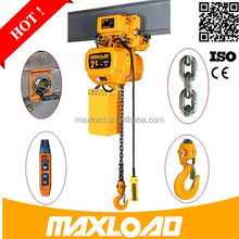 Lifting Equipment Low Price 380V Chain Sling Electric Hoist Crane 2 Tons