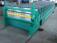 Double deck tile roll forming equipment C 8 C21