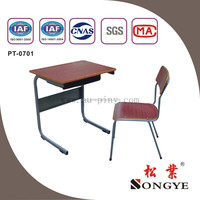 Cheap school desk/table and school chair ,school furniture for student ,study and classroom
